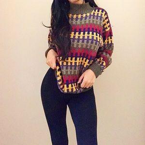 Cozy Handmade in Peru Knit Sweater